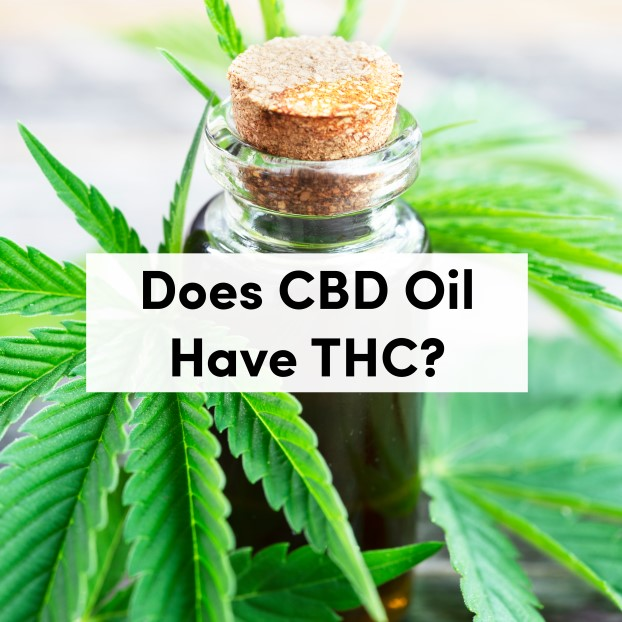 Does CBD Oil Have THC In It?