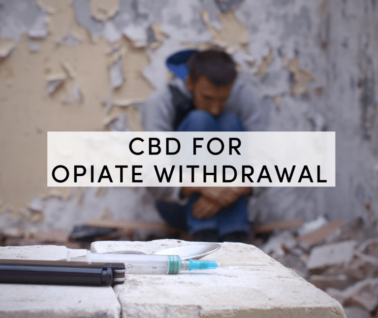 cbd for opiate withdrawal