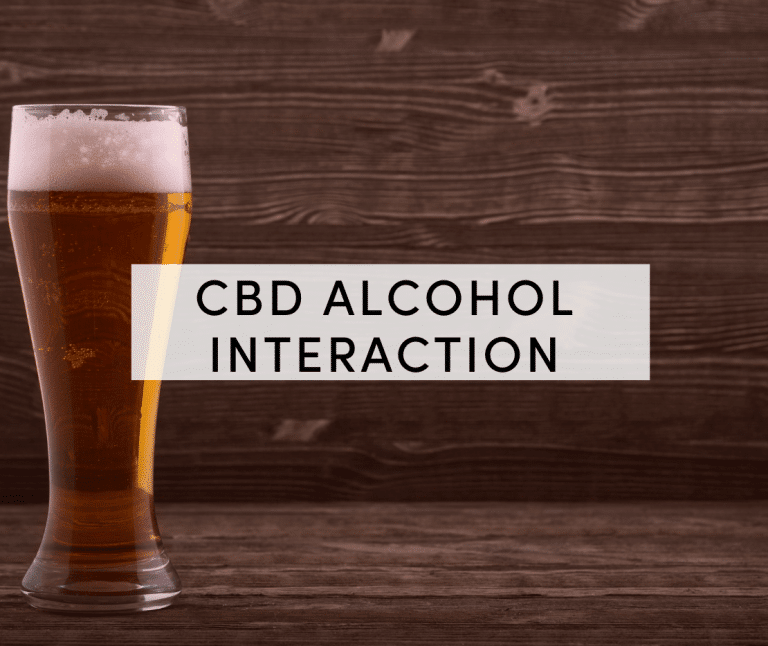 cbd alcohol interaction